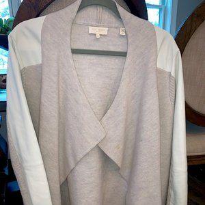 Women's Ted Baker London Jacket Wool Leather sz4